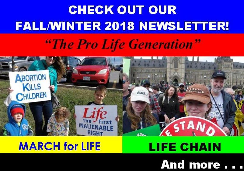 Winter/Fall Newsletter 2018